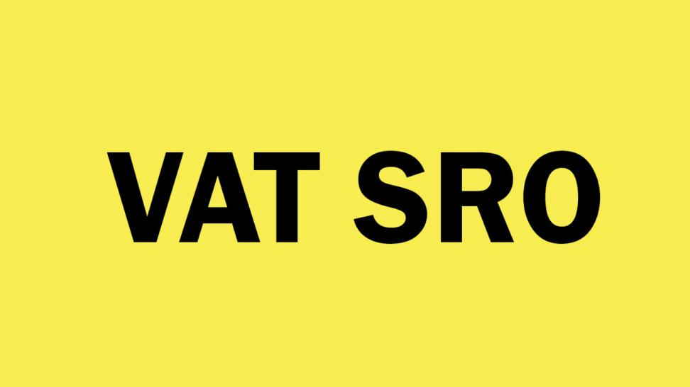 VAT SRO