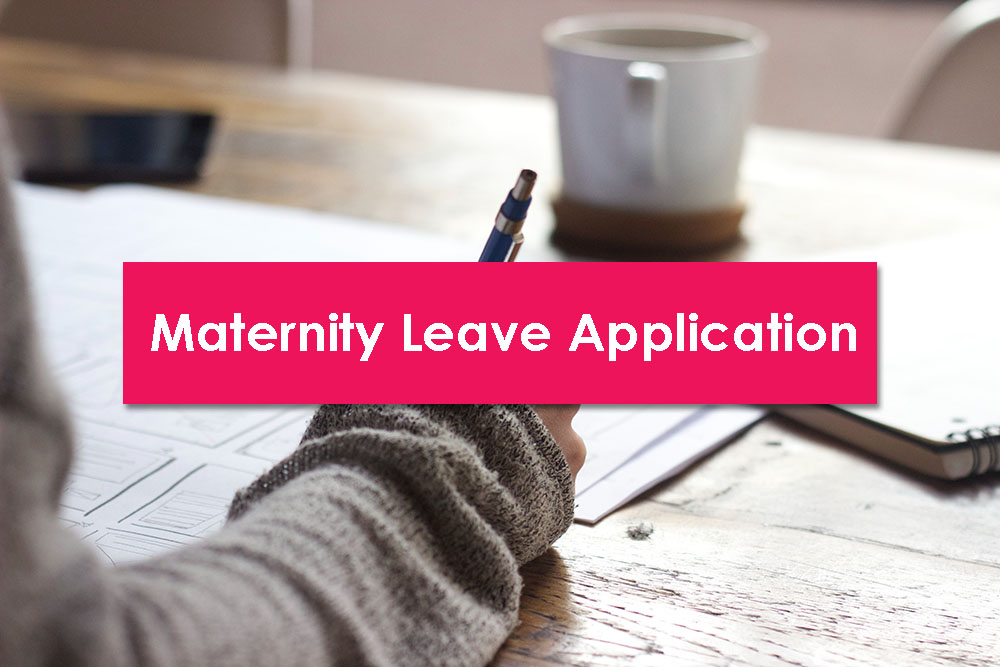 maternity leave application