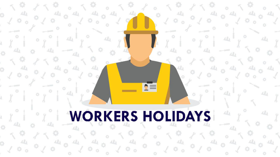 workers holidays